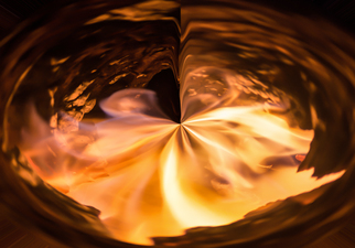 Bruno Paolo Benedetti, Abstract fire vortex, 2017, Original Photography Mixed Media, size_width{abstract_fire_vortex-1490517163.jpg} X 20 inches