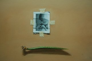 Jonathan Benitez; Articles Of Beginning, 2007, Original Painting Acrylic, 10 x 12 inches. Artwork description: 241  comparison on the interconnection of all living things. ...