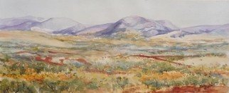 Bernice Wright; Distant Ranges Pilbara, 2010, Original Watercolor, 53 x 22 cm. Artwork description: 241  On painting trip to the Karijini National Park in the Pilbara region of Western Australia. A wonderful vista before you,  Out come the paints. ...