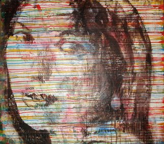 Bert Maurits, Scarlet, 2015, Original Mixed Media, size_width{Scarlet-1490005435.jpg} X 110 x  inches