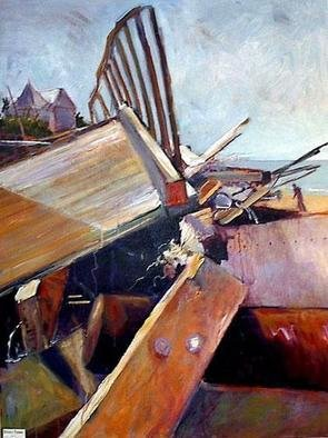 Beverly Furman; AFTER THE STORM, 2005, Original Painting Acrylic, 30 x 40 inches. Artwork description: 241 Depiction of what was left of