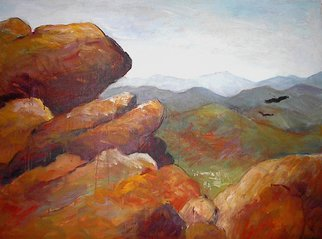 Beverly Furman; Old Rag Ll, 2008, Original Painting Acrylic, 36 x 30 inches.