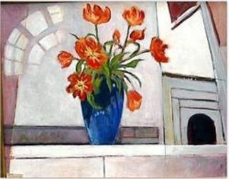 Beverly Furman; Tulips, 2005, Original Painting Acrylic, 30 x 24 inches.