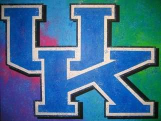 Bill Lopa; University Of Kentucky, 2017, Original Printmaking Giclee, 30 x 40 inches. Artwork description: 241 University of Kentucky ...