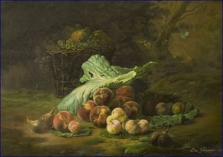 Boz Vakhshori; Fruit of Life, 2006, Original Painting Oil, 39 x 27 inches. Artwork description: 241  Oil on Canvas, Fruits, Still Life. ...
