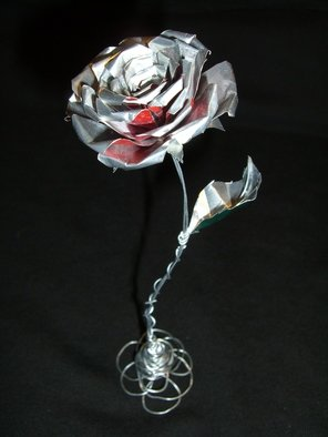 An-ti Lin; Can Rose, 2008, Original Sculpture Mixed, 2 x 2 inches.