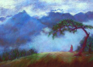 Brenda Boles; Andean Splendor, 2009, Original Pastel, 40 x 29 inches. Artwork description: 241  This is where I was on 9/ 11 - - Macchu Picchu in the Peruvian Andes.  I saw this site and knew I had to paint it.  The atmosphere, mist, and mountains were actually blue! ...
