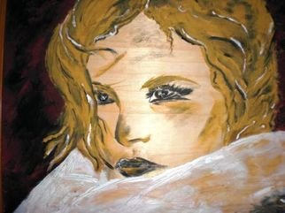 Socobean Cristina; Beauty, 2010, Original Painting Tempera, 40 x 30 cm. Artwork description: 241    tempera on cardboard  ...