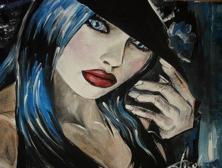 Socobean Cristina; Irresistible, 2011, Original Painting Tempera, 40 x 30 cm. Artwork description: 241            tempera on cardboard          ...