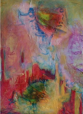 Lynne Sonenberg, Way to Go, 2008, Original Painting Acrylic, size_width{Between_Breaths-1221092240.jpg} X 30 inches