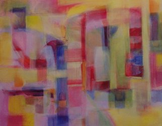 Lynne Sonenberg; Matrix, 2013, Original Painting Acrylic, 28 x 22 inches. Artwork description: 241 Playful puzzlement. ...