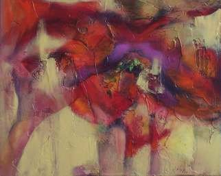 Lynne Sonenberg, 'This Too', 2006, original Painting Acrylic, 20 x 16  x 2 inches. Artwork description: 2307  It started as a posey, but got abstracted into a gem of a painting.  One can look and look at this and wonder and wonder.  Great colors, great texture, great forms.  Sometimes it all just comes together just so. ...