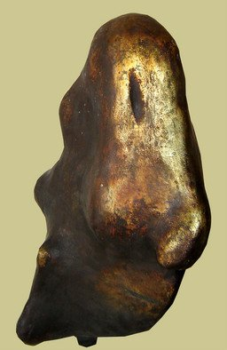Burhan Sabir; Face, 2007, Original Sculpture Other, 50 x 90 cm. Artwork description: 241  face ...