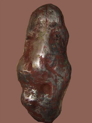 Burhan Sabir; Face, 2007, Original Sculpture Other, 20 x 40 cm. Artwork description: 241  face ...