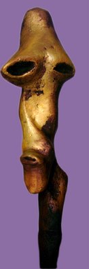 Burhan Sabir; Face, 1909, Original Sculpture Other, 25 x 80 cm. Artwork description: 241   man face  ...