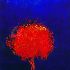 Bridget Busutil, The Tree Within, 2002, Original Painting Encaustic, size_width{The_Tree_Within-1422555493.jpg} X 40 x  inches
