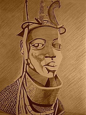 Caddy King; In Sepias, 2012, Original Digital Other, 5.6 x 7 inches. Artwork description: 241   sepia visual mixed media- ; charcoal, pastel and graphic editing software  ...