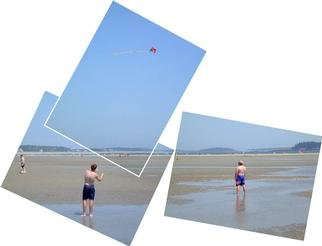 Bruce Lewis; KiteFlying, 2001, Original Photography Other, 15 x 12 inches.
