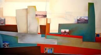 Christian Culver; Atlanta, 2006, Original Pastel, 54 x 30 inches. Artwork description: 241 Pastelmixed media on heavy archival 100 lb drawing paper. Uses architectural images as part of composition...