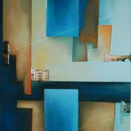 Christian Culver, , , Original Pastel, size_width{Coalescent_Constructions_45-1509557521.jpg} X 48 inches