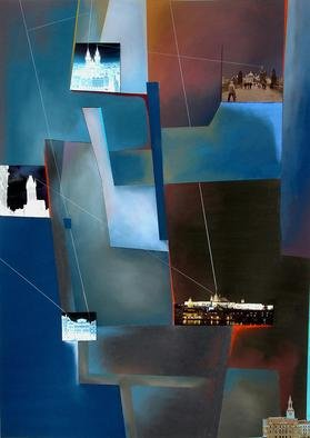 Christian Culver; Prague 1, 2004, Original Pastel, 38 x 56 inches. Artwork description: 241 Pastel mixed media on paper. ...
