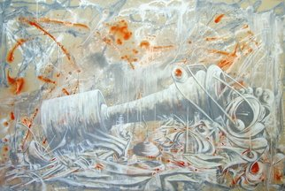 Cesar Garcia; View Of The Deepest Dreams, 2010, Original Mixed Media, 60 x 90 inches.