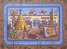 Artist: Carol Griffith's, title: Pistol Petes, 1992, Painting Oil