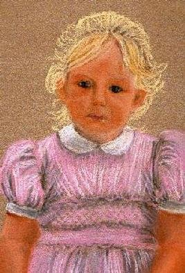 Chantal Powell; Laura3, 2000, Original Painting Other, 16 x 12 inches. Artwork description: 241 Pastel on Velours Paper...