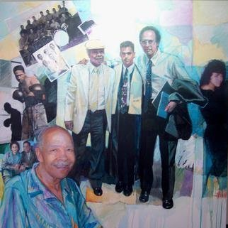 Doyle Chappell; Memories Of Jasons Grandfather, 2013, Original Painting Acrylic, 50 x 48 inches. Artwork description: 241      Work by commission only, not for sale.     ...