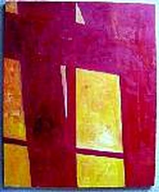 Joshua Cheng; Noon Impression, 2000, Original Painting Oil, 30 x 24 inches.