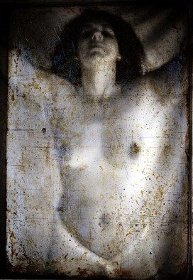 Christian Harkness; Tarnished Mirror 2, 2007, Original Photography Other, 4.5 x 6 inches. Artwork description: 241  Images of a jaundice look at ones body through the veil of a tarnished mirror.  ...