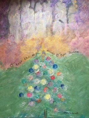 Cindy Kornet; O Night Devine, 2017, Original Painting Acrylic, 16 x 20 inches. Artwork description: 241 Christmas O Night Divine Soul Religious Holiday...