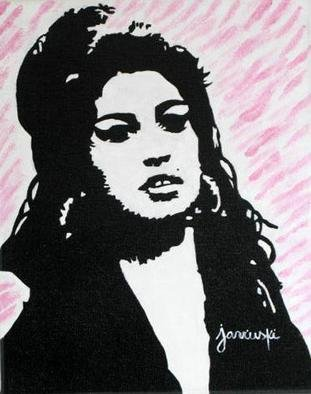 Caroline Jarvinski; Amy Winehouse, 2012, Original Painting Acrylic, 15 x 13 inches. Artwork description: 241   amy winehouse pop art     ...