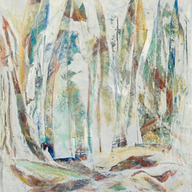Caren Keyser, , , Original Painting Acrylic, size_width{white_abstract_6_vertical-1557445909.jpg} X 20 inches