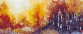 Claudia Ferrari; Boulevard Of Broken Dreams, 2005, Original Painting Other, 120 x 60 cm. Artwork description: 241 color sumi- e on rice paper mounted on canvas ( a japanese technique that uses natural dyes on hand- made rice paoer) ...