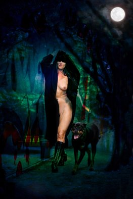 Corrie Ancone; NakedLady 16, 2012, Original Photography Color, 24 x 30 inches. Artwork description: 241 photographic overlay & manipulationphotographic overlaynude figurative ...