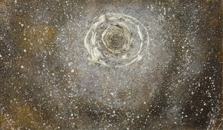 Edward Bolwell; Moon Galaxy, 2017, Original Painting Other, 43 x 26 cm. Artwork description: 241 Acrylic on MDF...
