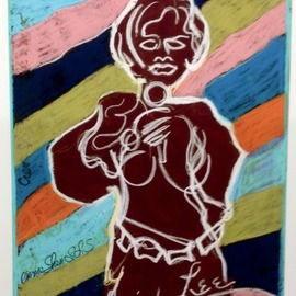 Sheri Smith, , , Original Printmaking Giclee, size_width{the_amazing_frida_lee-1537737268.jpg} X 18 inches