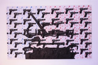 Leonard Curpan; Power, 2010, Original Other, 260 x 160 cm.