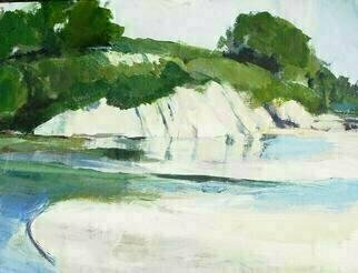 Daniel Clarke, 'Goleta Park Number Two', 2008, original Painting Acrylic, 20 x 16  x 0.2 inches. Artwork description: 9831  Goleta Park Number Two is part of the Artist' s California Scenes series of paintings. ...