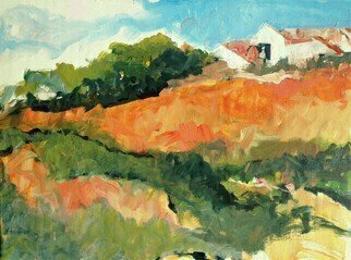 Daniel Clarke; Eagle Rock Hillside, 2019, Original Painting Acrylic, 24 x 18 inches. Artwork description: 241 Eagle Rock Hillside. In the Northeast Los Angeles lies the charming district known as Eagle Rock. Hills and valleys with houses nestled on hilltops. A Plein Air marvel to be sure. Acrylic is the magic fluid bringing this work alive ...