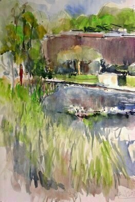 Daniel Clarke; norton simon museum gardens, 2018, Original Watercolor, 12 x 18 inches. Artwork description: 241 The Norton Simon Museum is an art museum located in Pasadena, California, United States. It was previously known as the Pasadena Art Institute and the Pasadena Art Museum. A gem to behold is the Museum garden in the rear Atrium. A lovely and inviting sight to see ...