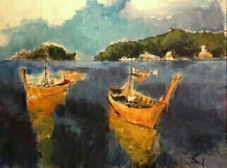 Daniel Clarke, , , Original Painting Acrylic, size_width{phi_phi_islands_south_thailand-1495411072.jpg} X