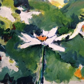 Daniel Clarke, , , Original Painting Acrylic, size_width{spring_floral-1559315429.jpg} X 10 inches