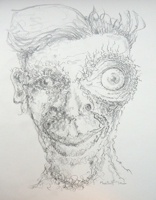 Dave Martsolf, Carnival Surrealism, 2010, Original Drawing Pencil, size_width{I__-1289065792.jpg} X 10 inches