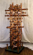 Artist: Dave Martsolf's, title: Intimacy, 2014, Sculpture Wood