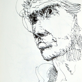 Dave Martsolf, , , Original Drawing Pen, size_width{The_Young_Prince-1458836455.jpg} X 8 inches