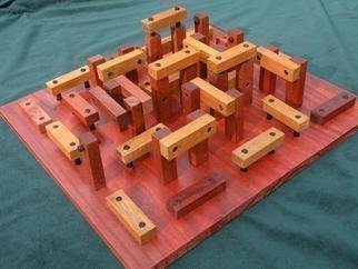 Dave Martsolf, Woodhenge, 2013, Original Sculpture Wood,    inches