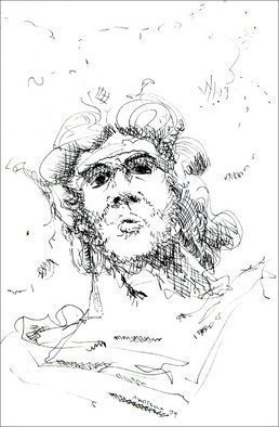 Dave Martsolf, 'Zeus the Drawing', 1979, original Drawing Pen, 5 x 8  inches. Artwork description: 5475 Zeus is certainly confused from time to time. If desired by the purchaser, any drawing can be matted and shrunk- wrapped prior to shipping as part of the overall piece price. ...