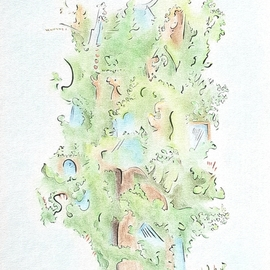 Dave Martsolf, , , Original Drawing Other, size_width{treehouse-1539201274.jpg} X 14 inches
